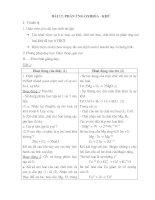 Giáo án hóa học 10- Chuyên ban (tiếp)