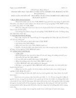 Giáo án ngoại khóa 11(tháng 9 )