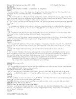 Đề cương ôn tập Chương 1, 2, 3