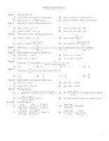 Trắc nghiệm lượng giác 10 có đáp án