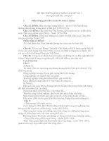Đề thi thử đại học môn lịch sử - đề 11