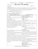 Giáo án Ngữ văn 9 tuần 31