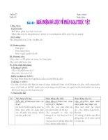 Bài 43 Khái niệm sơ lược về phân loại thực vât