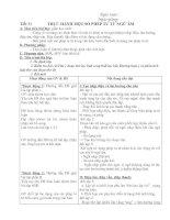 Tiết 31 - Thực hành một số phép tu từ ngữ âm