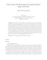 Cấm và hạn chế đình công trong pháp luật lao động việt nam