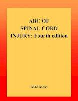 Tài liệu ABC of Spinal Cord Injury pdf