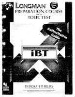 preparation course for the TOEFL test pdf