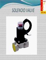 Tài liệu BÁO CÁO NHẬP MÔN ĐIỀU KHIỂN VÀ TỰ ĐỘNG HÓA - Đề tài: Solenoid Value pptx