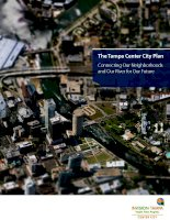 Tài liệu The Tampa Center City Plan Connecting Our Neighborhoods and Our River for Our Future docx