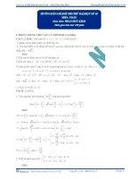 Hướng dẫn giải đề thi thử đại học số 3  2013 - môn toán