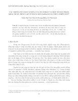Tài liệu CÁC THÔNG SỐ CHẤT LƯỢNG CỦA FUCOIDAN VÀ MỘT SỐ SẢN PHẨM KHÁC ĐƯỢC PHÂN LẬP TỪ RONG MƠ (SARGASSUM) THỪA THIÊN HUẾ potx
