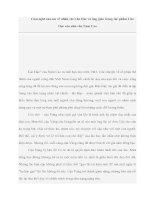 Tài liệu Cảm nghĩ của em về nhân vật Lão Hạc và ông giáo trong tác phẩm Lão Hạc của nhà văn Nam Cao pot