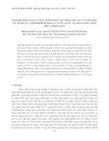 Tài liệu THÀNH PHẦN LOÀI VÀ ĐẶC ĐIỂM PHÂN BỐ THEO ĐỘ CAO CỦA BỘ PHÙ DU (INSECTA - EPHEMEROPTERA) Ở VƯỜN QUỐC GIA BẠCH MÃ, TỈNH THỪA THIÊN HUẾ pdf