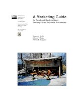 Tài liệu A Marketing Guide for Small and Medium Sized Primary Forest Products Processors pdf