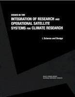 Tài liệu ISSUES IN THE INTEGRATION OF RESEARCH AND OPERATIONAL SATELLITE SYSTEMS FOR CLIMATE RESEARCH pdf