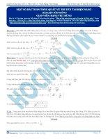 luyện thi đh kit 1 (đặng việt hùng) - một số bài toán tổng quát về truyền tải điện năng (tài liệu bài giảng)
