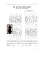 Tài liệu Nghiên cứu sử dụng các hợp chất hóa học tự nhiên nhằm hạn chế quá trình xâm hại của côn trùng, bảo quản nông sản sau thu hoạch pdf