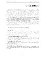 Tài liệu Giáo trình: Microsoft Access 2000 docx