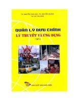 Tài liệu Quản lý bưu chính - Lý thuyết và ứng dụng tập 2 ppt