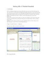 Tài liệu Hướng dẫn về Matlab/Simulink docx