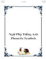 ngu phap tieng anh phonetic symbols