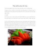 Tài liệu Thực phẩm giúp mắt sáng docx