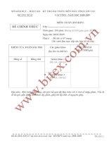 Tài liệu Đề thi học sinh giỏi toán bổ thúc THPT trên máy tính cầm tay tỉnh Quảng Ngải năm 2009 pdf
