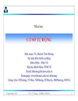 Tài liệu Đánh giá chất lượng hệ thống điều khiển doc
