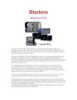 Tài liệu What is a PLC Starters pdf