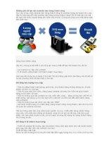 Tài liệu Những yếu tố tạo nên website bán hàng thành công ppt