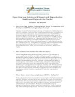 Tài liệu Open Hearing: Adolescent Sexual and Reproductive Health and Rights in the Pacific pdf