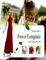 template powerpoint  748tgp wedding light
