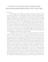 [bản dịch] LY THUYET VA UNG DUNG CUA QUAN LY TRI THUC HO TRO HE THONG CHAT LUONG