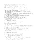 Tài liệu Đề Thi Thử Tốt Nghiệp Toán 2013 - Phần 2 - Đề 28 docx