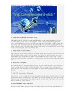Tài liệu 13 lý do vì sao doanh nghiệp cần có một website bán hàng riêng pptx