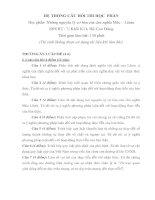 Tài liệu HỆ THỐNG CÂU HỎI THI HỌC PHẦN NHỮNG NGUYÊN LÝ CƠ BẢN CỦA CHỦ NGHĨA MÁC - LÊNIN pptx