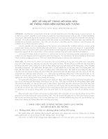 Tài liệu Một số vấn đề trong mô hình hóa hệ thống phần mềm hướng đối tượng. pdf