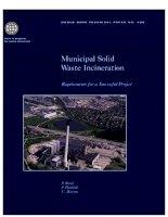 Tài liệu municipal solid waste incineration pptx