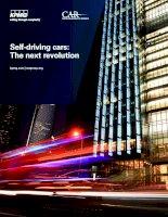 Tài liệu Self-driving cars: The next revolution pdf