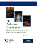 Tài liệu The Pathways Commission Charting a National Strategy for the Next Generation of Accountants pptx