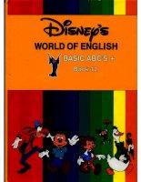 Disney''''s world of english 12