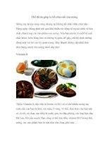 Tài liệu Chế độ ăn giúp tu bổ nhan sắc của móng docx