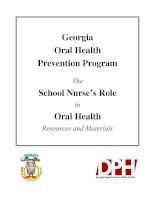Tài liệu Georgia Oral Health Prevention Program The School Nurse's Role in Oral Health pdf