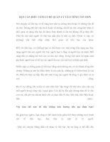 Tài liệu BẠN CẦN HIỂU TÂM LÝ ĐỂ QUẢN LÝ TÀI CHÍNH TỐT HƠN pdf
