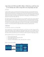 Tài liệu Lập trình với XML cho DB2, Phần 2: Phát huy sự hỗ trợ của cơ sở dữ liệu cho XML trong kiến trúc ứng dụng của bạn potx