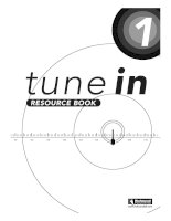 Tune in - Resources book