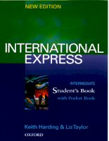 Oxford   international express intermediate students book new edition