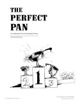 Tài liệu THE PERFECT PAN - An Animation Scene-Planning Primer doc
