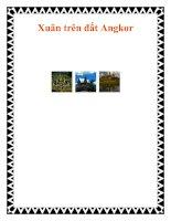 Tài liệu Xuân trên đất Angkor doc