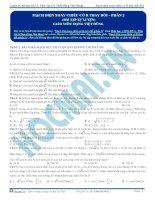 luyện thi đh kit 1 (đặng việt hùng) - mạch điện xoay chiều có r thay đổi - p2 (bài tập tự luyện)